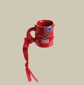 2008 Cup-O-Cheer Mini Mug