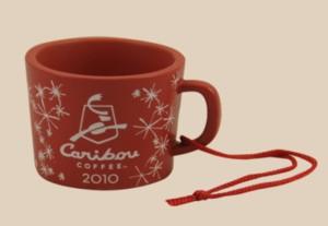 2010 Caribou Red Mug Image