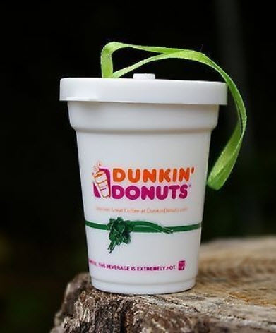 Dunkin Donuts Ornaments 2001 | Coffee House Collectibles