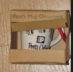2009 Coffee Mug Ornament Boxed