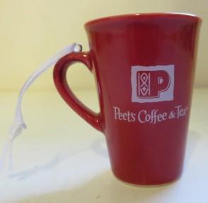 2011 Red Holiday Mug Ornament