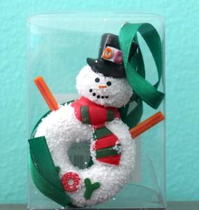 2014 Snowman Ornament