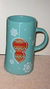 2007 Teal Single Orn Mug