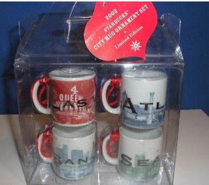 2003 City Skyline Series Ornament Set