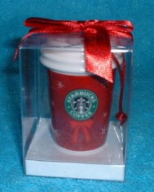 2004 Ornament Red To Go cup3