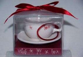 2005 Ornament Cup and Saucer