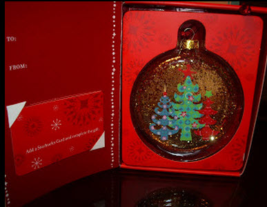 2006 Glass Ornament globe