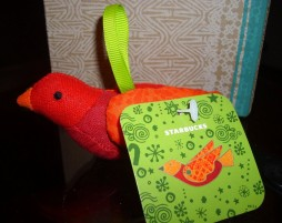 2008 Fabric Bird Ornament