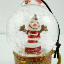 2010 Japan Mug Snow Globe Orn Clown Globe