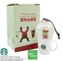 2010 Japan Mug Snow Globe Orn Hot Cup White1
