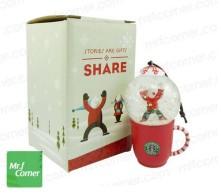 2010 Japan Mug Snow Globe Orn Kid Red1
