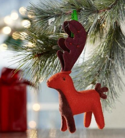 2011 Fabric Deer Ornament