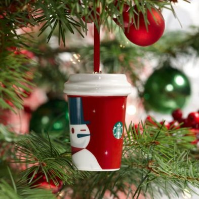 2012 Holiday To Go Cup Snowman