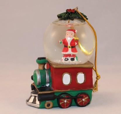 2012 Japan Train Santa Snow Globe3