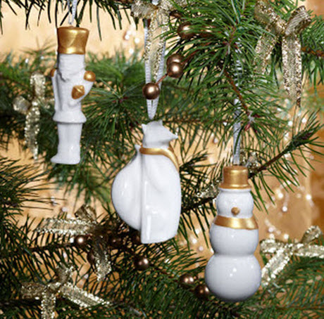 2012 Nutcracker Ornament Set Glass