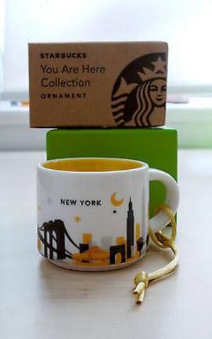 2013 NYC Mug Ornament YAH