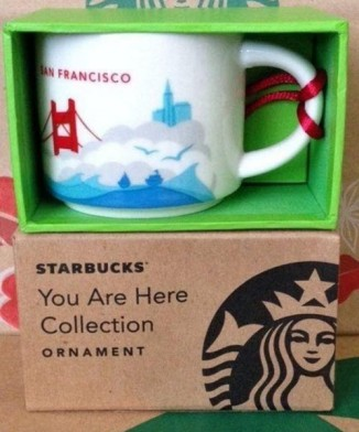 2013 San Francisco Ornament Mug YAH2
