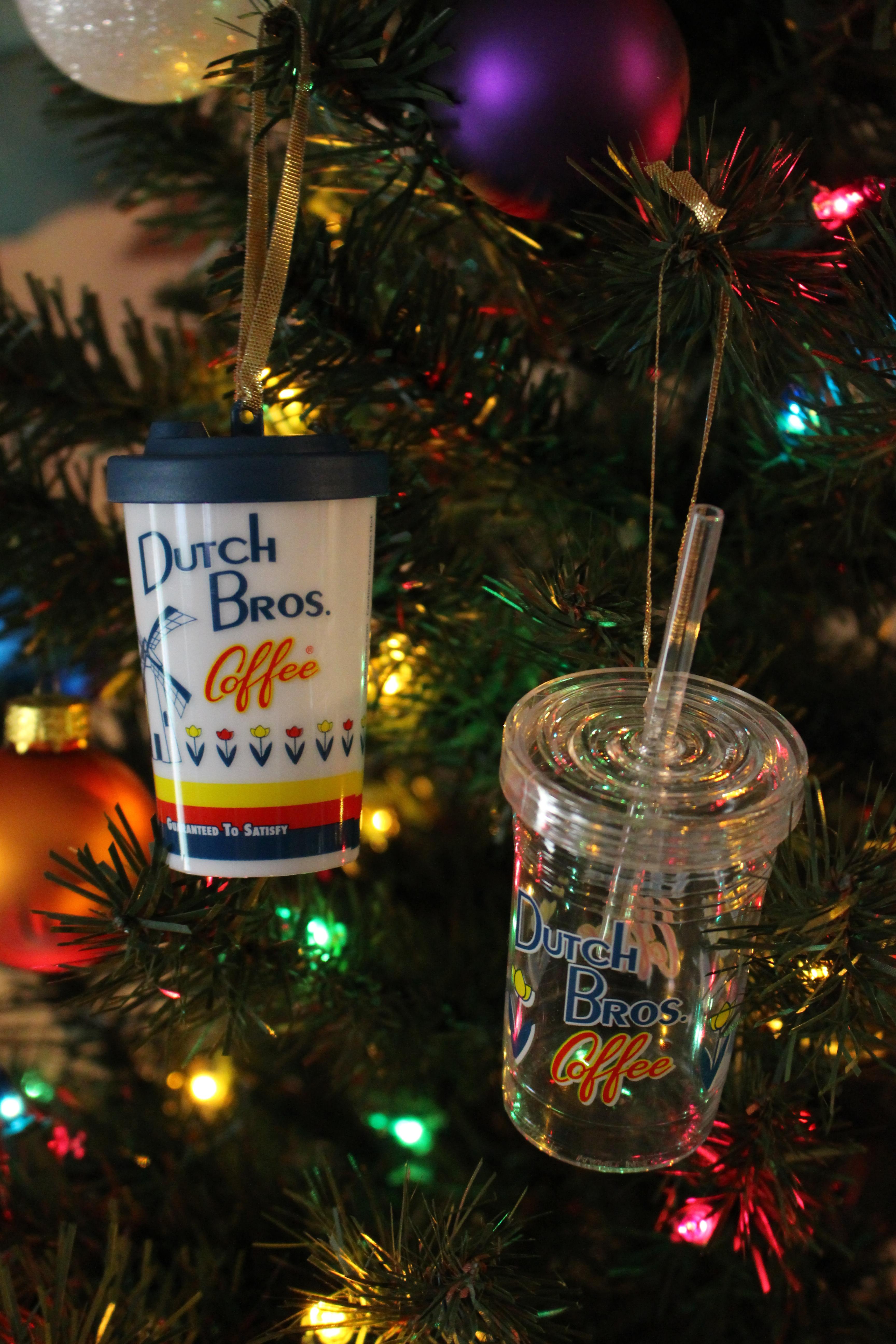Coffee Christmas Ornaments.Dutch Bros Coffee Ornaments 2013 2015 2016 Coffee