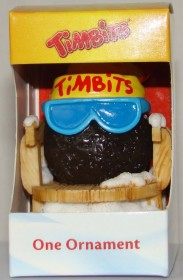 2012 Timbits on Sled Ornament